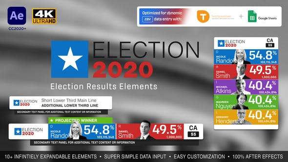 Election Results Elements