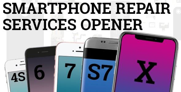 Smartphone Repair Services Opener