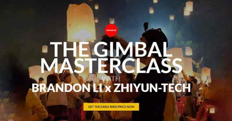 Brandon Li X Zhiyun-tech - The Gimbal Masterclass