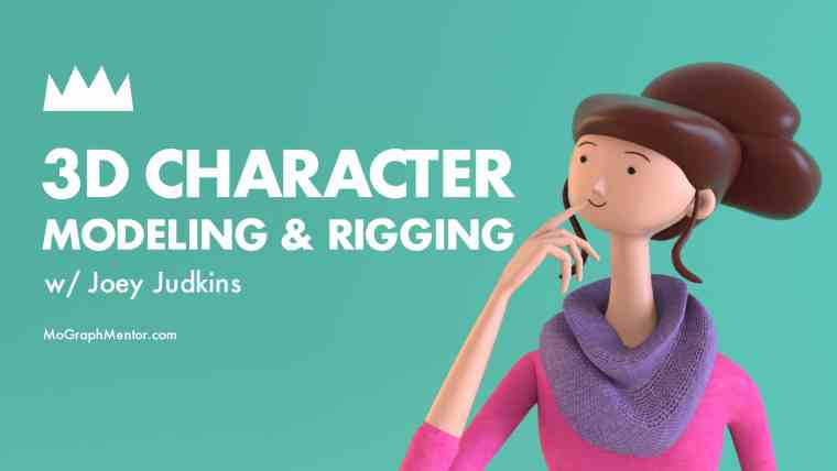 MoGraphMentor - 3D Character Modeling Rigging