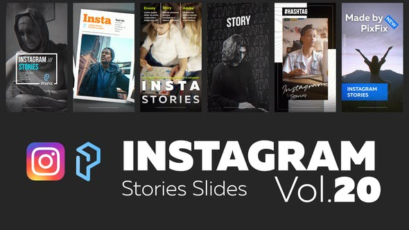 Instagram Stories Slides Vol. 20