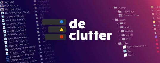 Aescripts Declutter