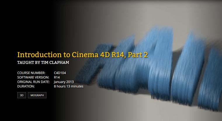 FXPHD - C4D104 Introduction to Cinema 4D R14 Part 2