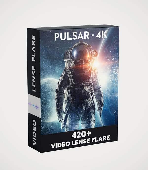 Pulsar-4k 420+ Video Lens Flare