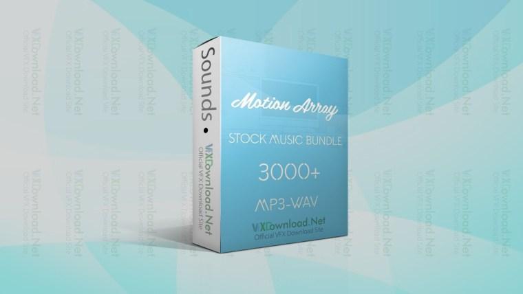 MotionArray Stock Music Bundle 3000+ MP3 – WAV