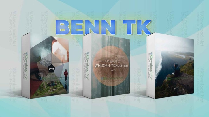 Sellfy - BENN TK Packs – LUT + Cinematic Transition Whoosh sound Pack + LIGHTROOM PRESET