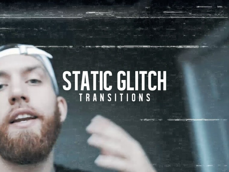 Download Static Glitch Transitions 25 Pack