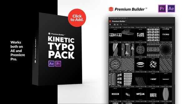 PremiumBuilder Kinetic Typography Pack 28757522