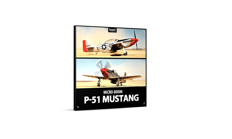 Boom Library - Transportation - P51 Mustang