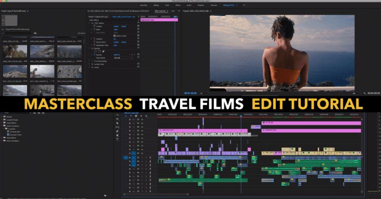 "Masterclass ""Travel Films"" Edit Tutorial"
