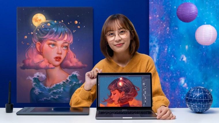 Domestika - Digital Fantasy Portraits with Photoshops By Karmen Loh