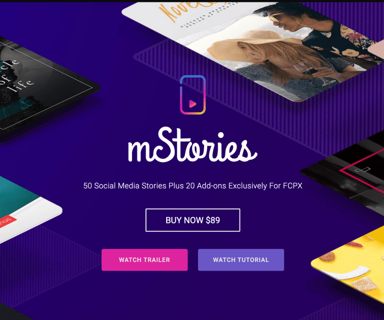 MotionVFX - mStories 2