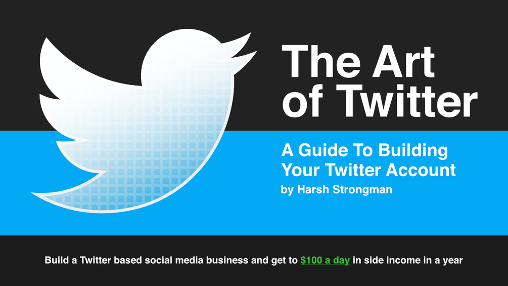 Gumroad - The Art of Twitter: A Guide To Building Your Twitter Account
