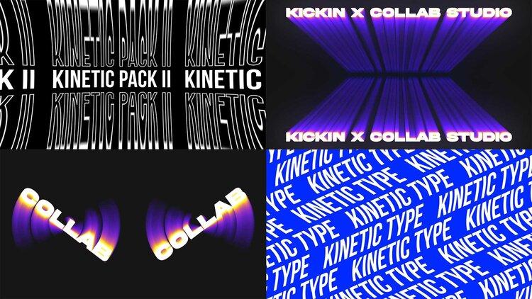 Collab Studio - Kinetic Type Volume 02