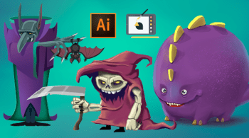 Yes Im a Designer – Drawing Monsters with Adobe Illustrator CC