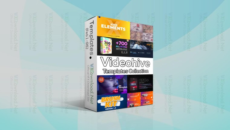 Videohive Templates Collection (1 to 7 February 2021)