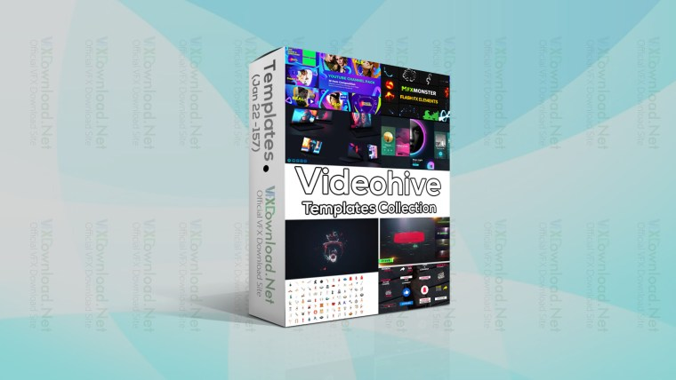Videohive Templates Collection (16 to 22 January 2021)