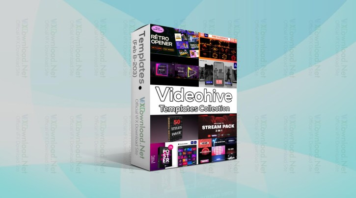 Videohive Templates Collection (8 to 15 February 2021)