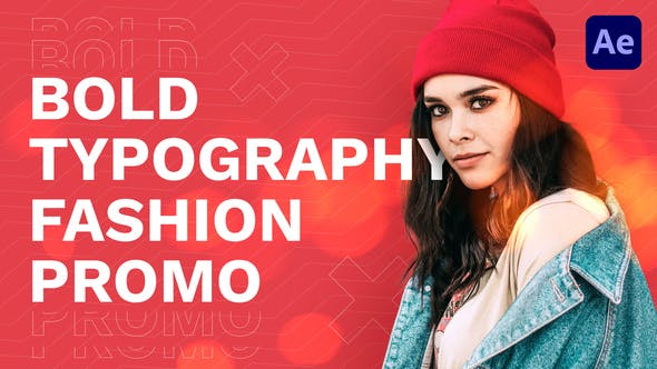 Videohive Bold Typography Fashion Promo 30573558