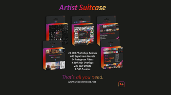 Artist Suitcase All Bundles