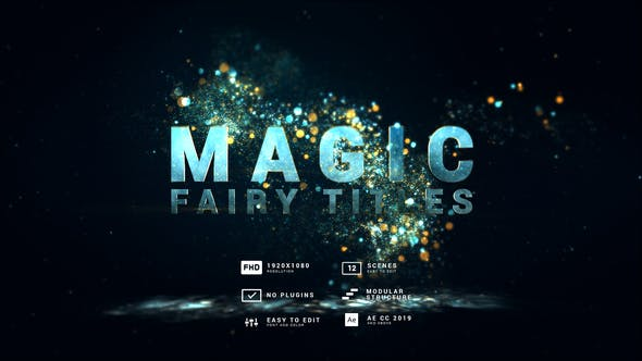 Videohive Magic | Fairy Particles Titles 30613652