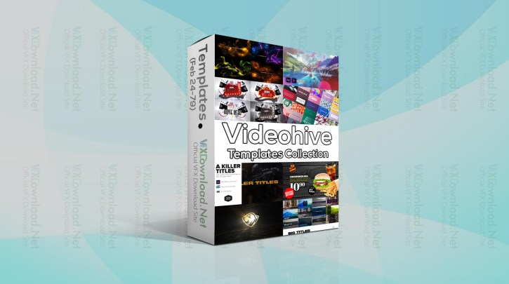 Videohive Templates Collection (24 to 28 February 2021)