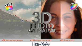 Videohive 3D Photo Animator for FCPX 26543829