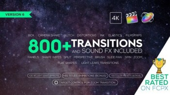 Videohive Transitions and Sound FX + Bonus 21589524