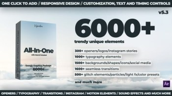 AtomX 6000+ All-In-One Motion Graphics Pack V5.3 24321544