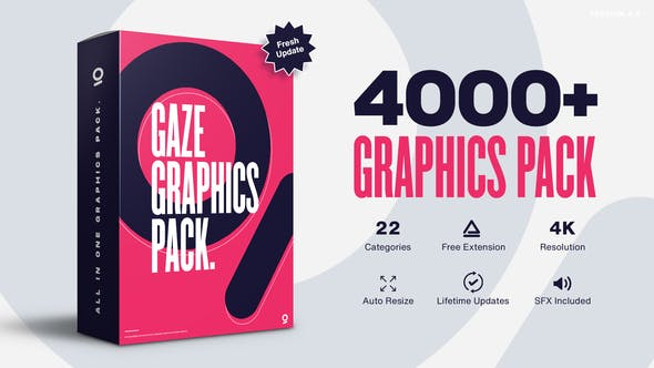 AnimationStudio Gaze Graphics Pack 4000+ Animations V4.5 25010010