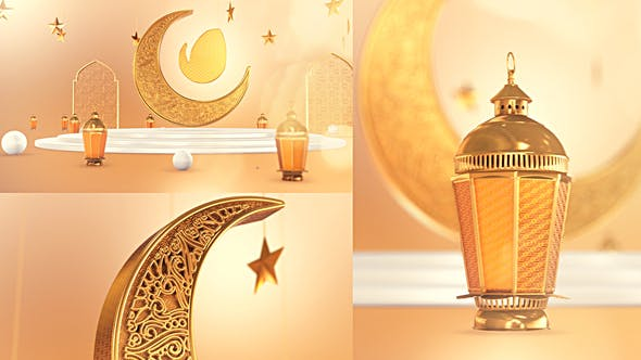 Videohive Golden Ramadan Intro 31230803