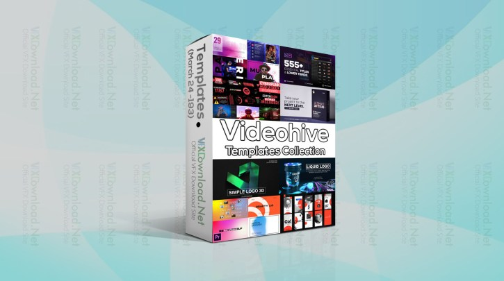 Videohive Templates Collection (24 to 31 March 2021)