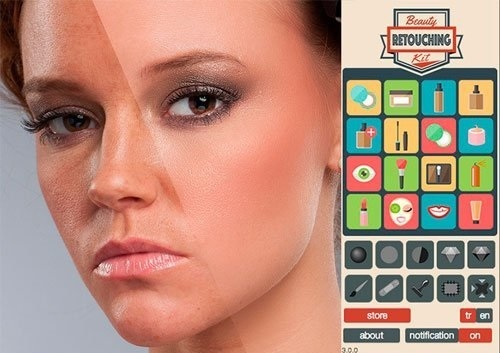 Beauty Retouching Kit 3.0.0 for Photoshop