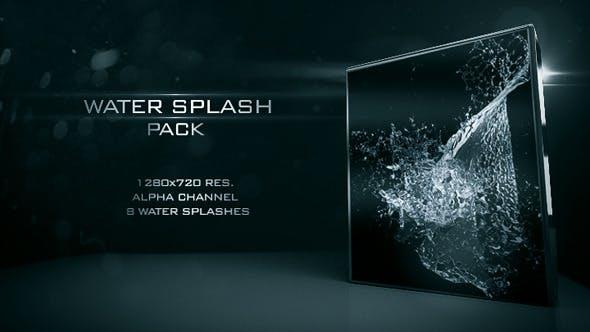 Videohive Water Splash Pack 02 9809537