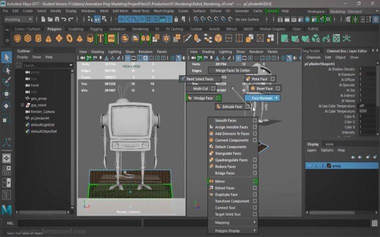 Create Professional 3D Models from Scratch in Maya By Alex Zaragoza