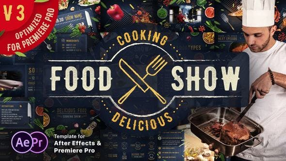 Videohive Cooking Delicious Food Show V3.4 16605706