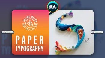 Paper Typography Quilling | A Step-By-Step Guide into Quilled Paper Art By Julide Belen