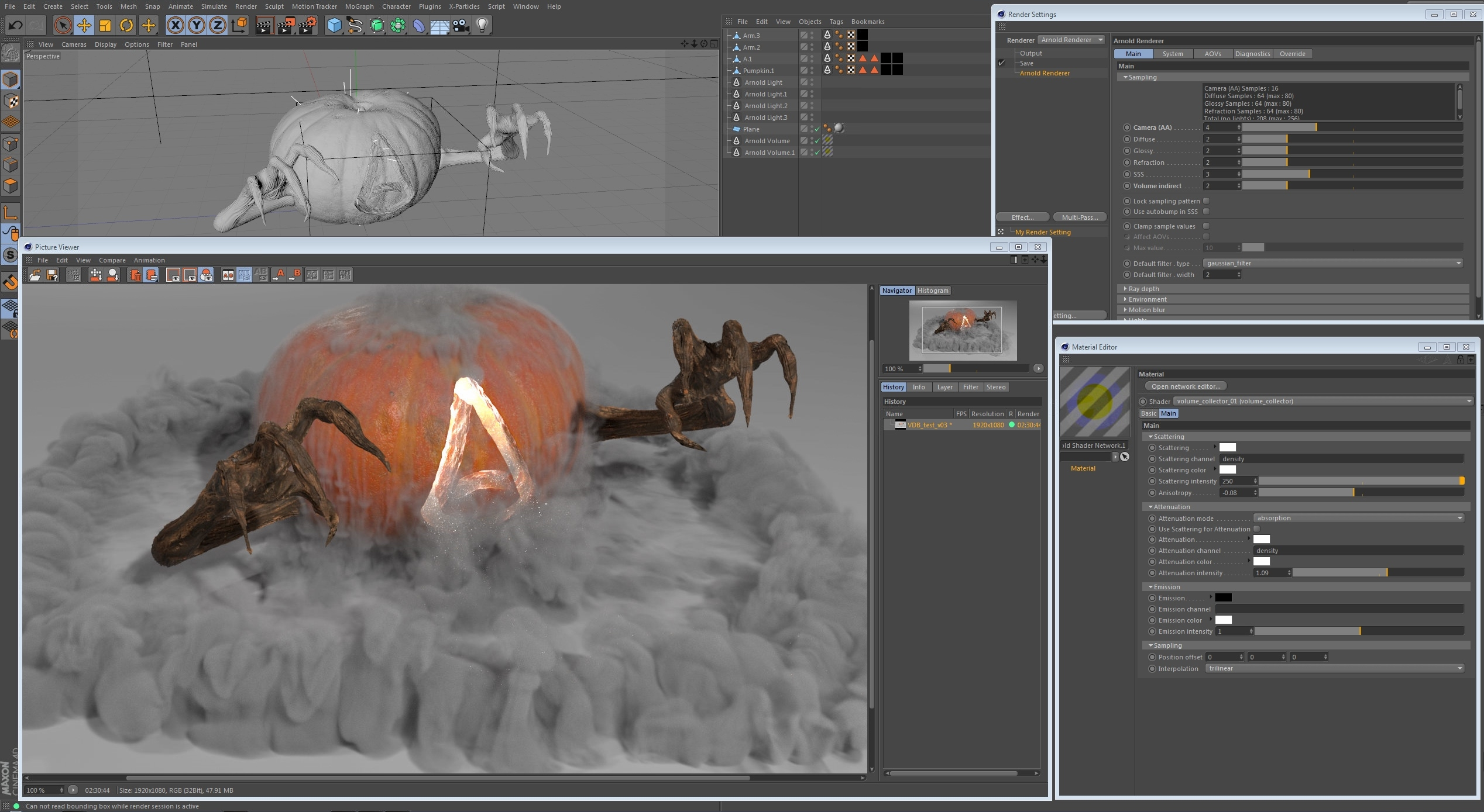 Solid Angle Arnold v3.3.7.1 for Cinema 4D R21-R24 (WIN)