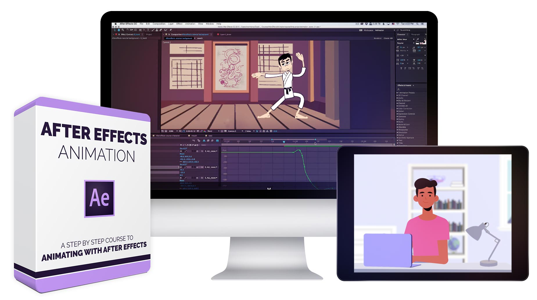 Bloop Animation - After Effects Animation
