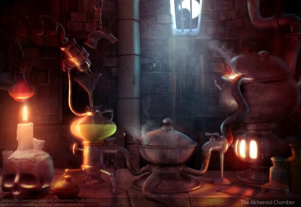 06 The Alchemist Chamber