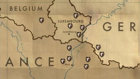 Teritorija koju je pokrivala Armija Duhova