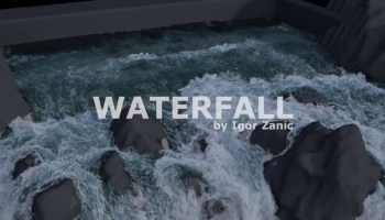 COURSE Water fx in Houdini by Igor Zanic and Saber Jlassi