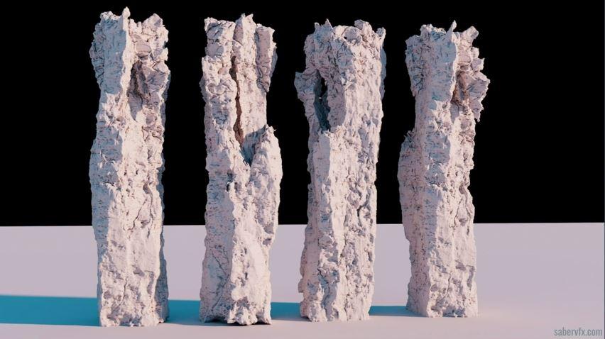 Procedural Rock Formations for UE4 | Saber Jlassi | Houdini Hive at