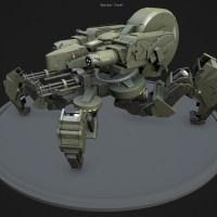 Željko Tasić - Spider Tank Model - Dizajn By Fausto De Martini