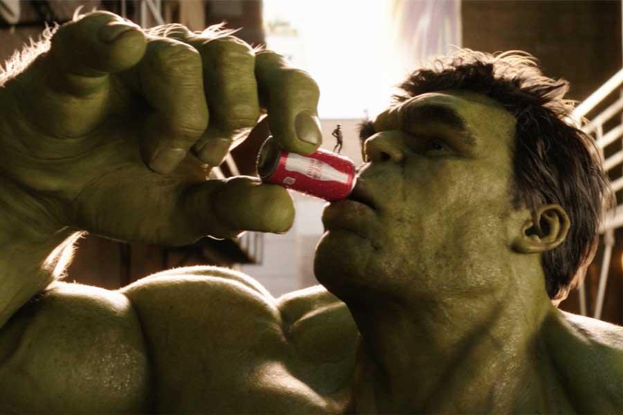 The Coke Mini commercial pushed the VFX envelope.