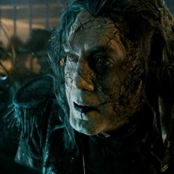 Walt Disney Pictures' Pirates of the Caribbean: Dead Men Tell No Tales is expected in U.S. theatres on May 26, 2017. Among the companies contributing to visual and special effects are: Atomic Fiction (visual effects and animation), CoSA VFX, Lola Visual Effects (visual effects), Moving Picture Company (MPC), Mr. X (visual effects), Odd Studio (prosthetic supply), Prime Focus World (3D conversion), Rodeo FX (visual effects) (Photo credit: Copyright (c) 2016 Disney Enterprises Inc. All Rights Reserved.)