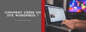 Comment créer un site wordpress - VG Coaching