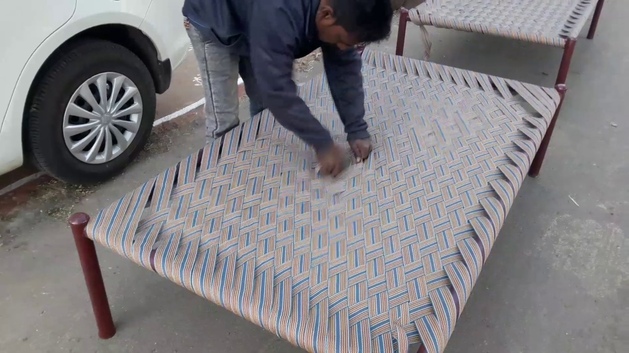 Weaving A Charpai Bed The Kid Should See This