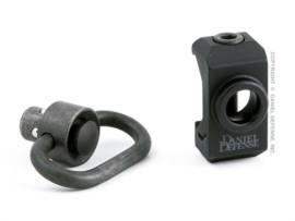 Daniel Defense Rail Mount QD Swivel Attachment w/QD Sling Swivel