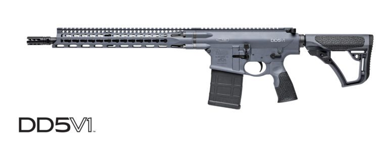 Daniel Defense .308 dd5v1 Tornado grey